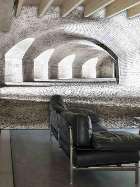 Creative-space-wallpaper-camera-da-letto-Reggio-emilia